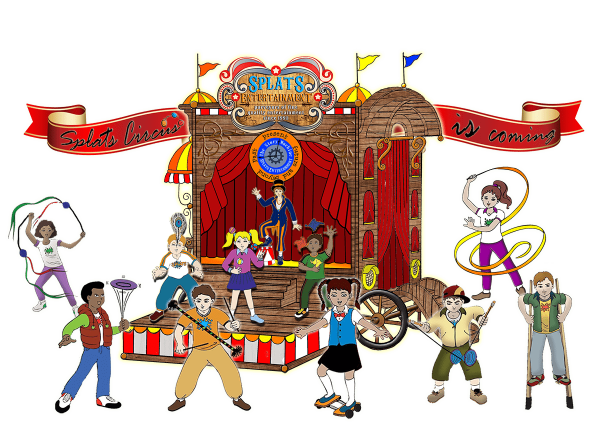 Splats Circus Caravan Circus Workshop
