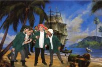 ship-treasure-on-island