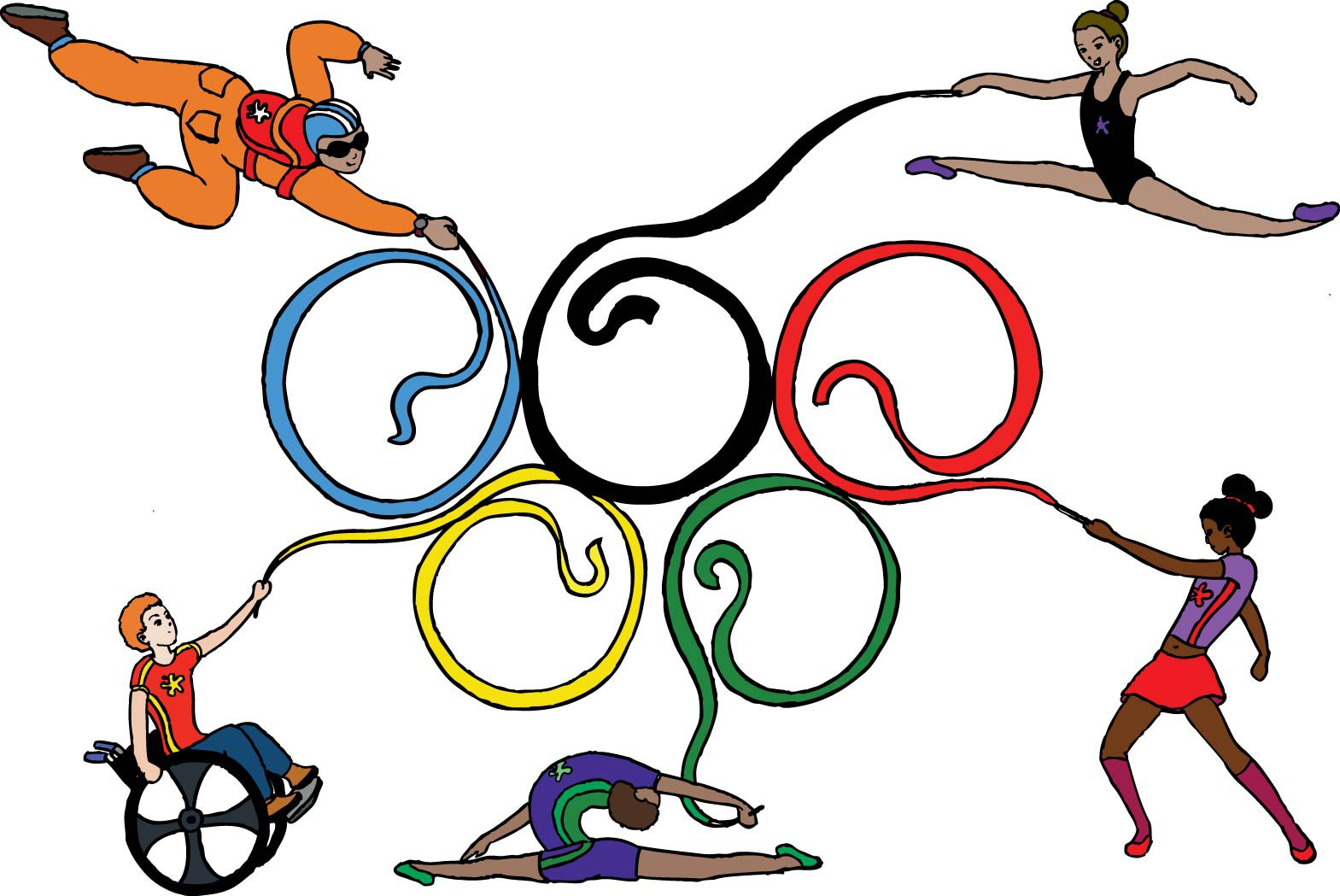 Olympic colour ring picture