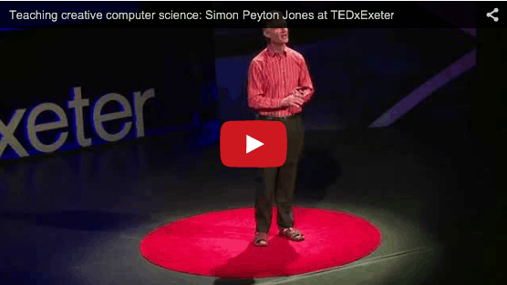 Teaching creative computer science: Simon Peyton Jones at TEDxExeter