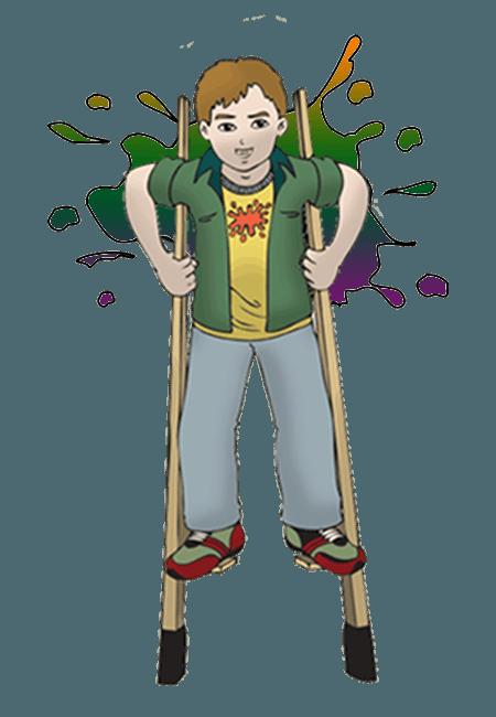 Splats Circus Skill Stilts