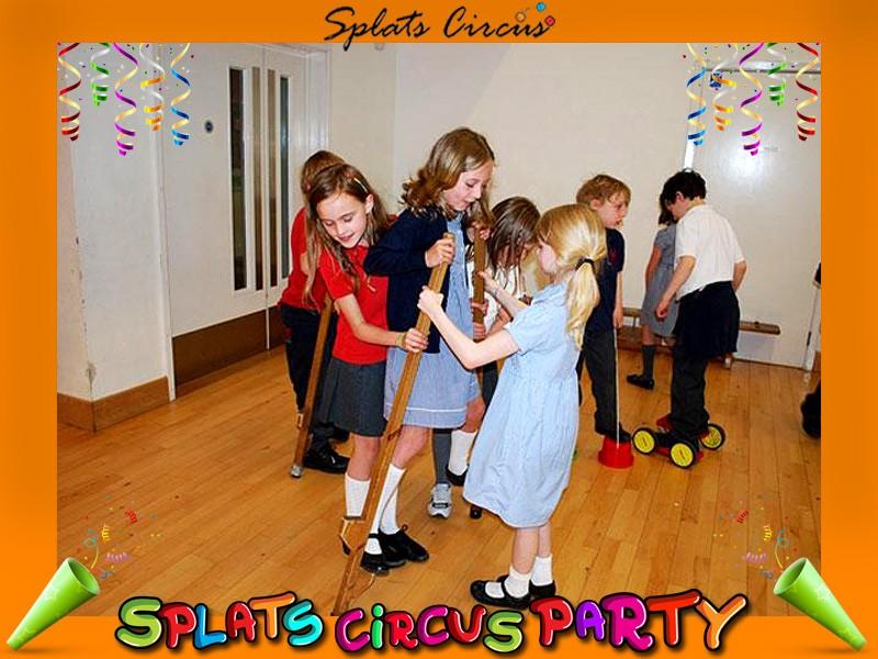 Splats Circus Party Stilts Photos