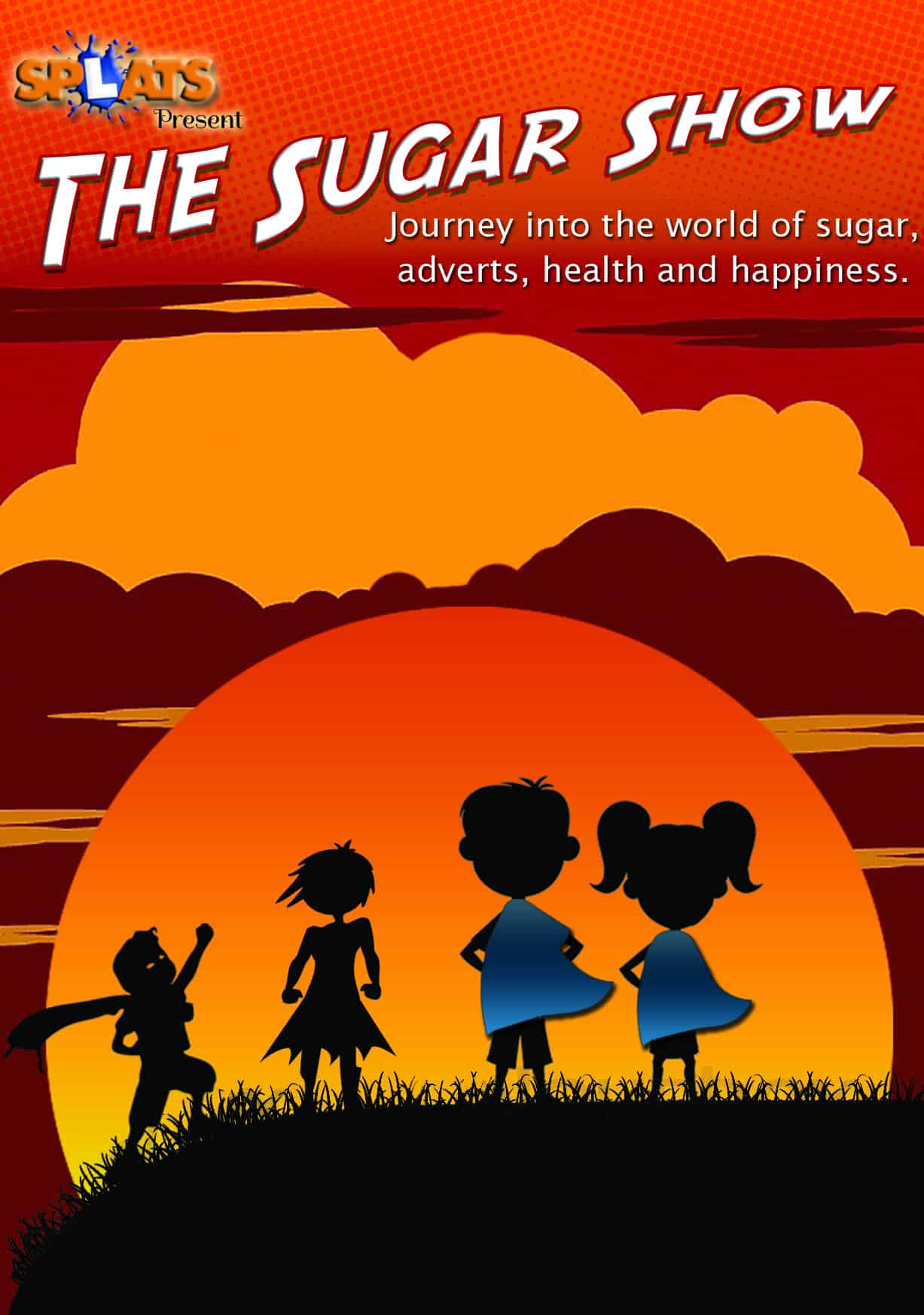Splats Entertainment The Sugar Show Poster