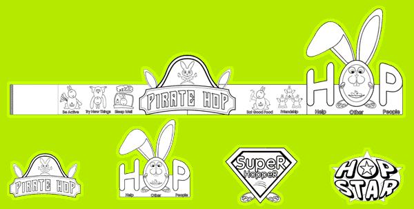 Splats Entertainment How to be Hoppy Headband
