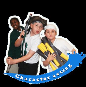 Splats Plays Character Acting