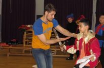 Shakespeare for Schools Play Romeo and Juliet Stage Combat Photo 2