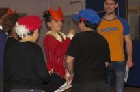 Shakespeare for Schools Play Romeo and Juliet Stage Combat Photo 4