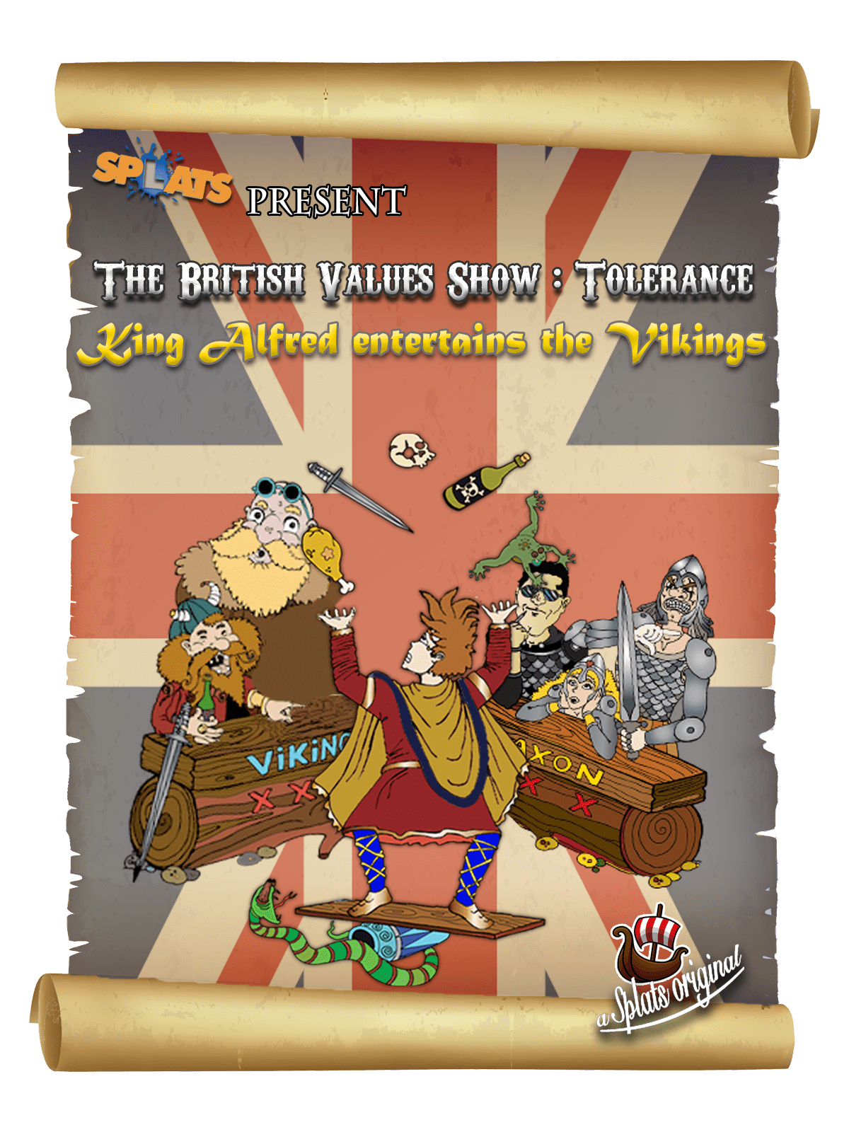Splats Entertainment The british values show poster