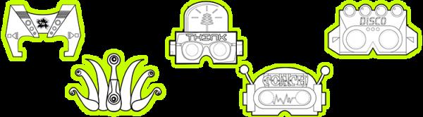Splats Entertainment E-Safety Mask Montage