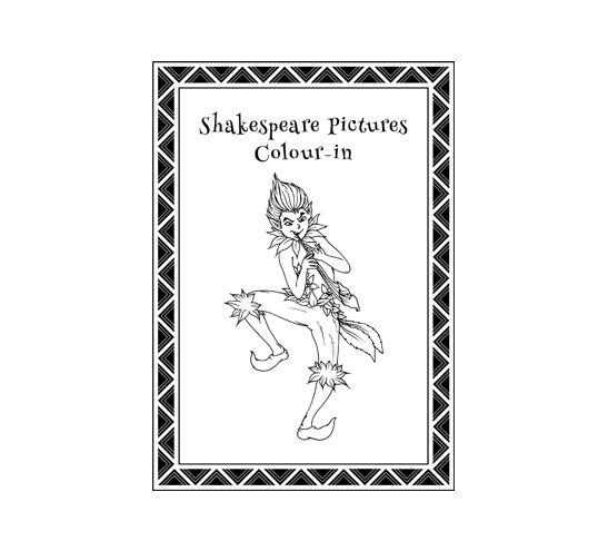 28. Splats Entertainment Shakespeare Resource Shakespeare Picture to Colour