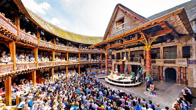 Shakespeare for Schools Exit Burbage
