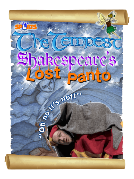 Shakespeare for Schools The Tempest Lost Panto Poster