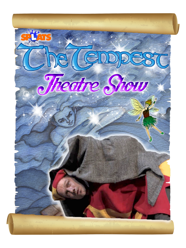 The Tempest Theatre Show Poster Shakespeare for Schools