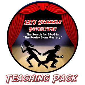 Splats Entertainment SPaG Detectives Teaching Pack