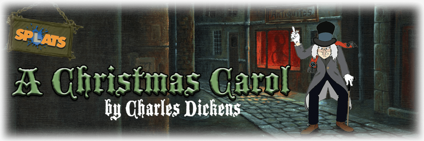 Splats Entertainment A Christmas Carol Banner--