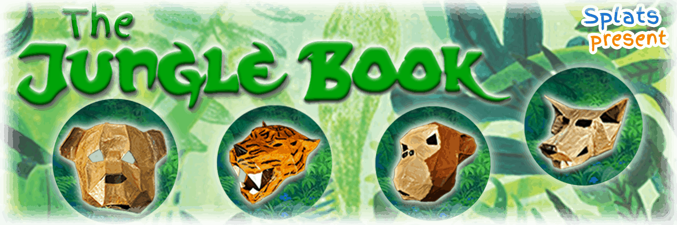 Splats Entertainment The Jungle Book Show Banner